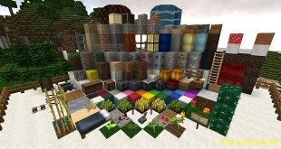 Orion Three Resource Pack 1.8/1.7.5/1.7.4/1.7.2/1.6.4 – Mods – Download