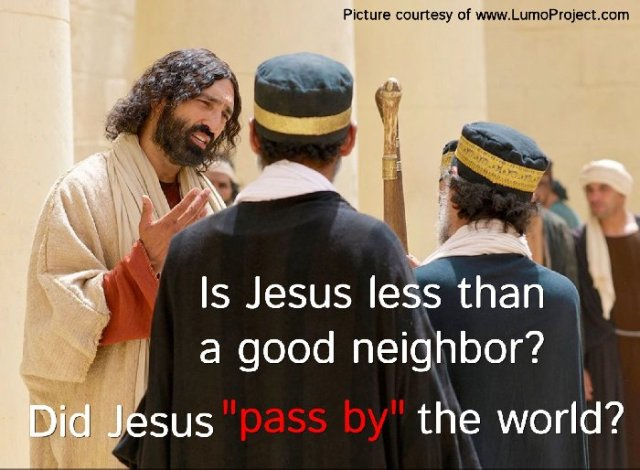 Jesus the good neighbor