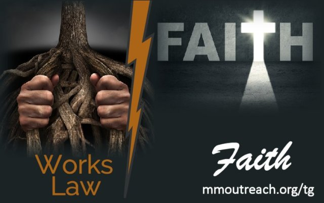 Works vs faith on The Giving blog by Cheryl Schatz