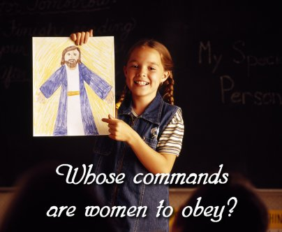 Whose commands are women to obey? Mike Seaver and Cheryl Schatz debate women in ministry