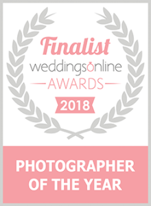 Weddings Online photographer of the year finalist