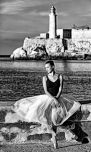 _E7A7557 Ballarina with lighthouse background B&W web ready