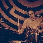 Drummer Guilhem Meier of Poil