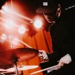 Drummer Mark van Kersbergen