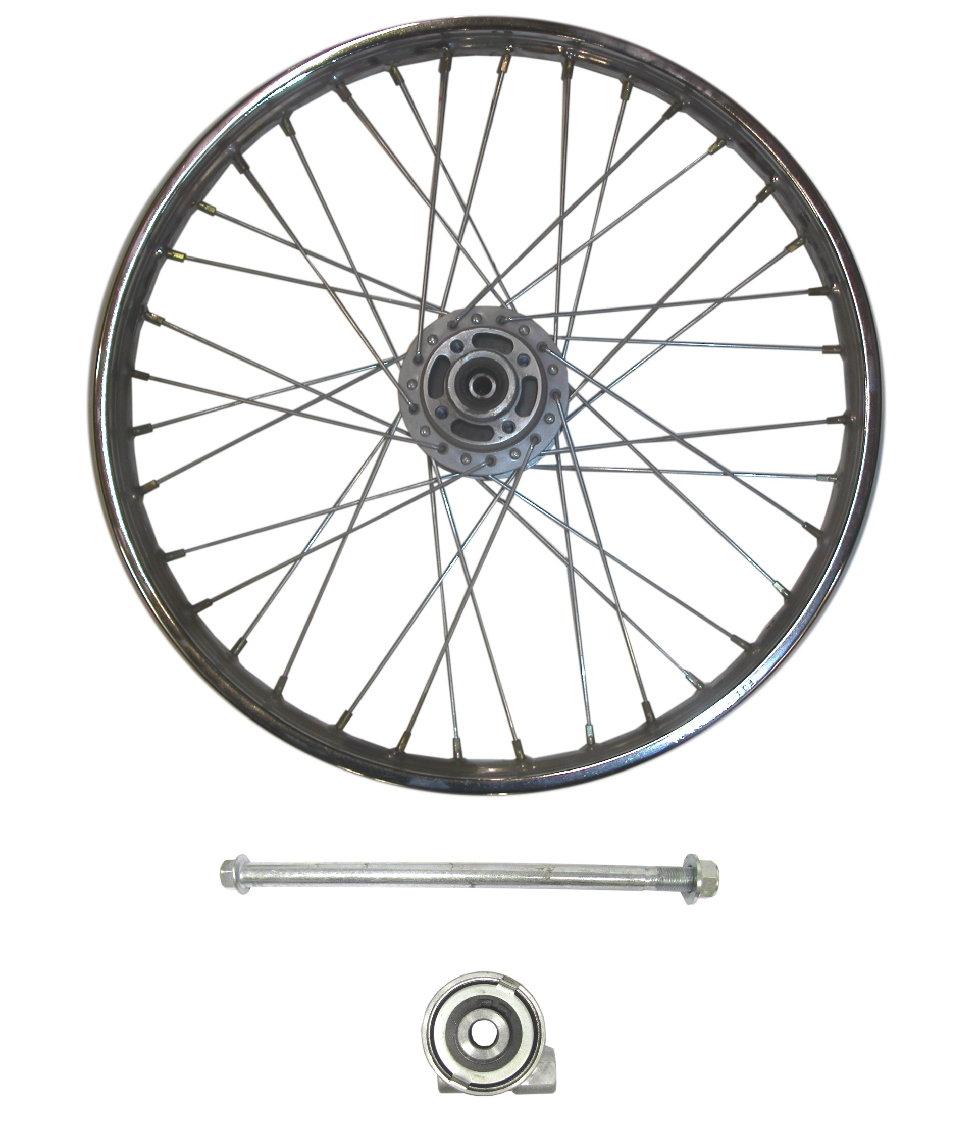 Front Wheel Cg125 Style Drum With Brake Plate Rim 1 40 X