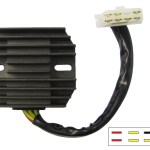 Lujuntec Regulator Rectifier Fit For 1998 Honda Shadow 1100 1998 2001 Honda Shadow Ace 1100 1998 2000 Honda Shadow Aero 1100 1999 2000 Honda Shadow Spirit 1100 Voltage Regulator Parts Electrical Batteries