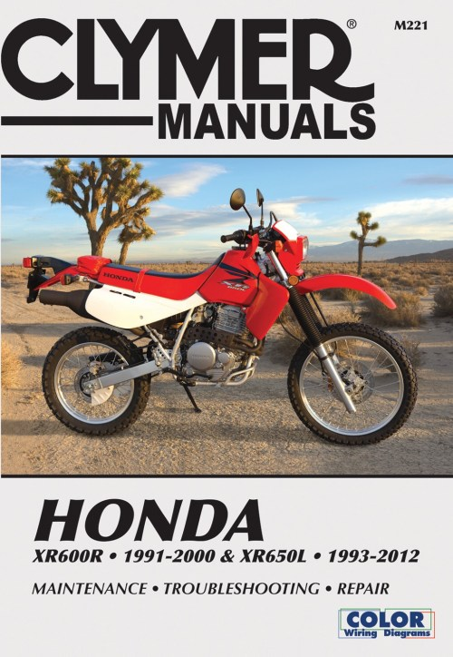 small resolution of la imagen se est cargando clymer manual se ajusta a honda xr600r 91