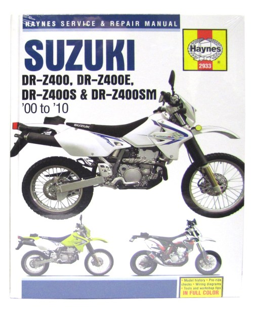 small resolution of image is loading haynes manual suzuki drz400 00 05 drz400e
