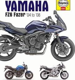 image is loading haynes manual yamaha fz 6s fz6 n [ 800 x 1048 Pixel ]