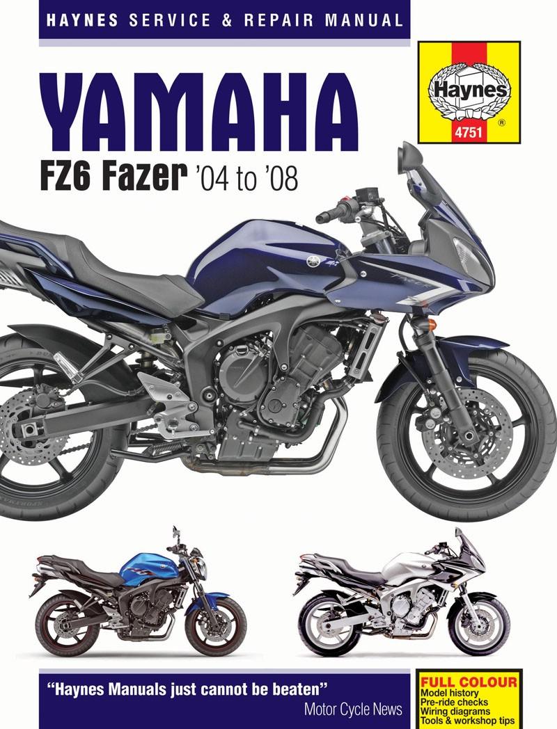 medium resolution of image is loading haynes manual yamaha fz 6s fz6 n