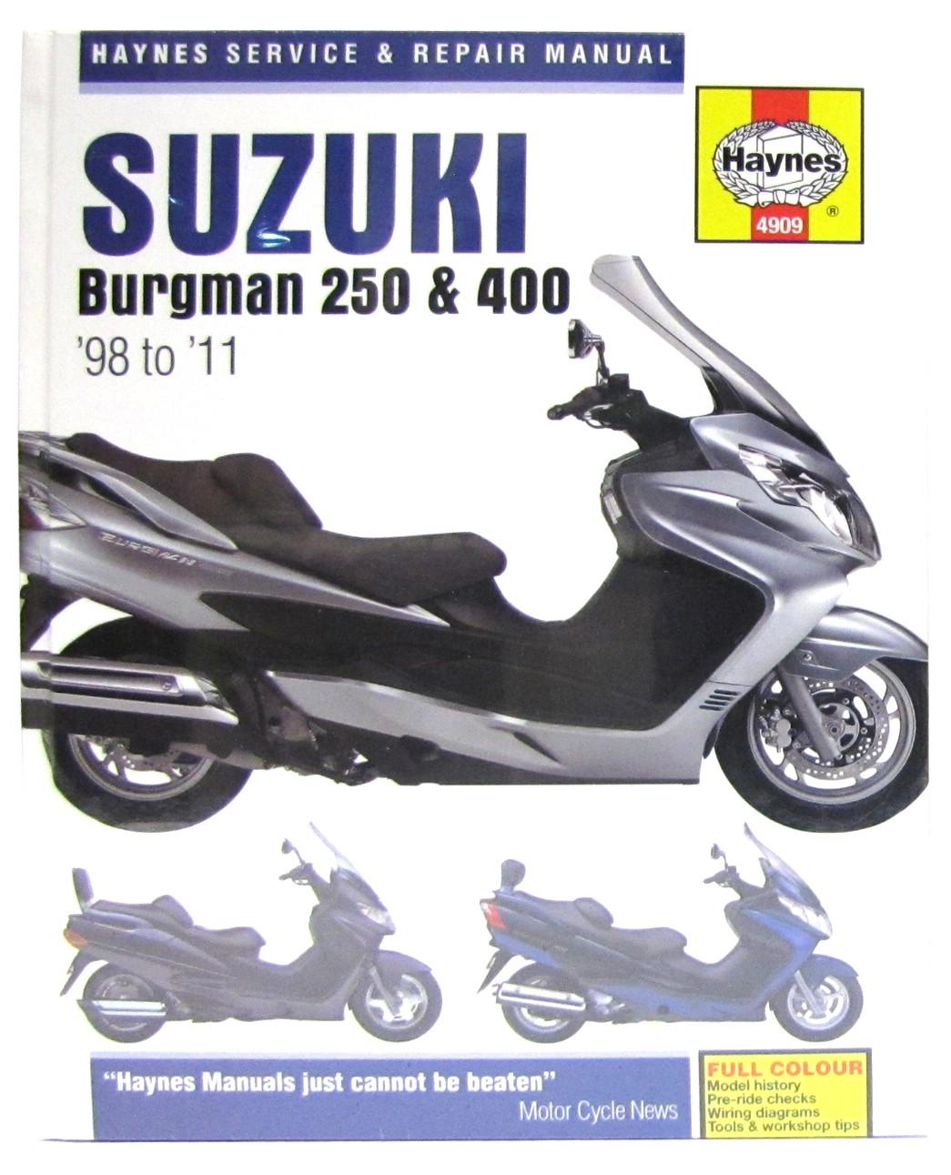 hight resolution of image is loading suzuki an 250 burgman uk 1998 2002 manuals