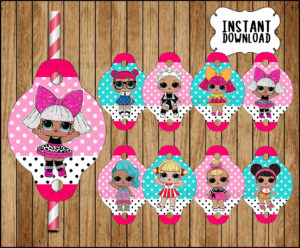 Lol Surprise Dolls Toppers Archives Printable