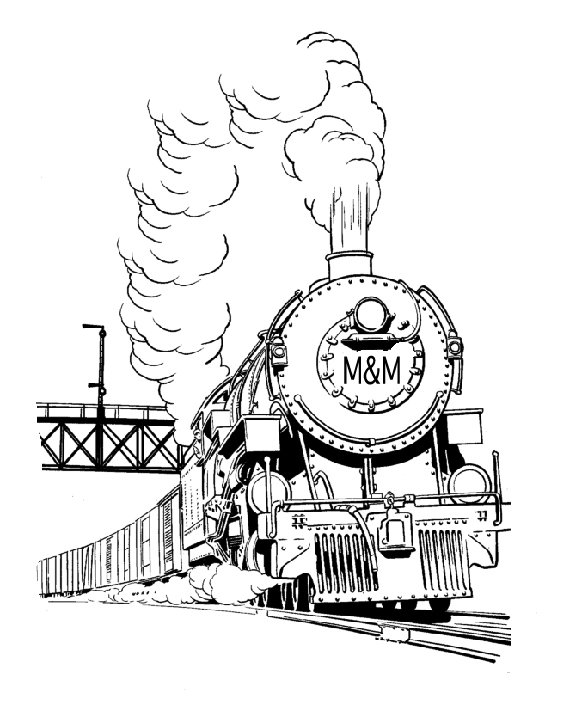 Csx Freight Train Coloring Pages Coloring Pages
