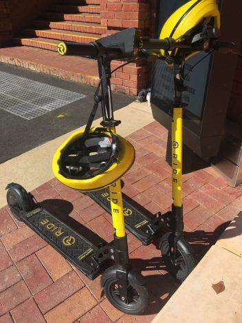 Ride Scooter - Adelaide