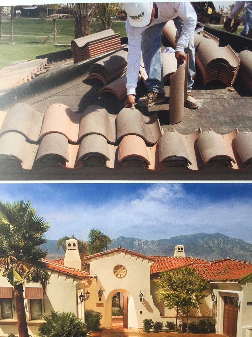 boral clay roofing tile in modesto ca