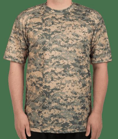 Custom Badger Digital Camo Performance Shirt