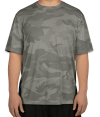 Custom Champion Camo Performance Shirt