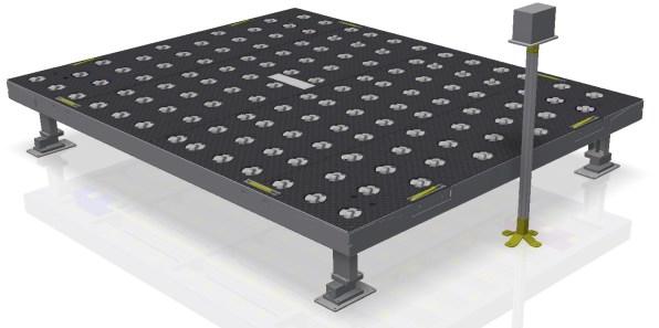 Piattaforma di pesatura container
