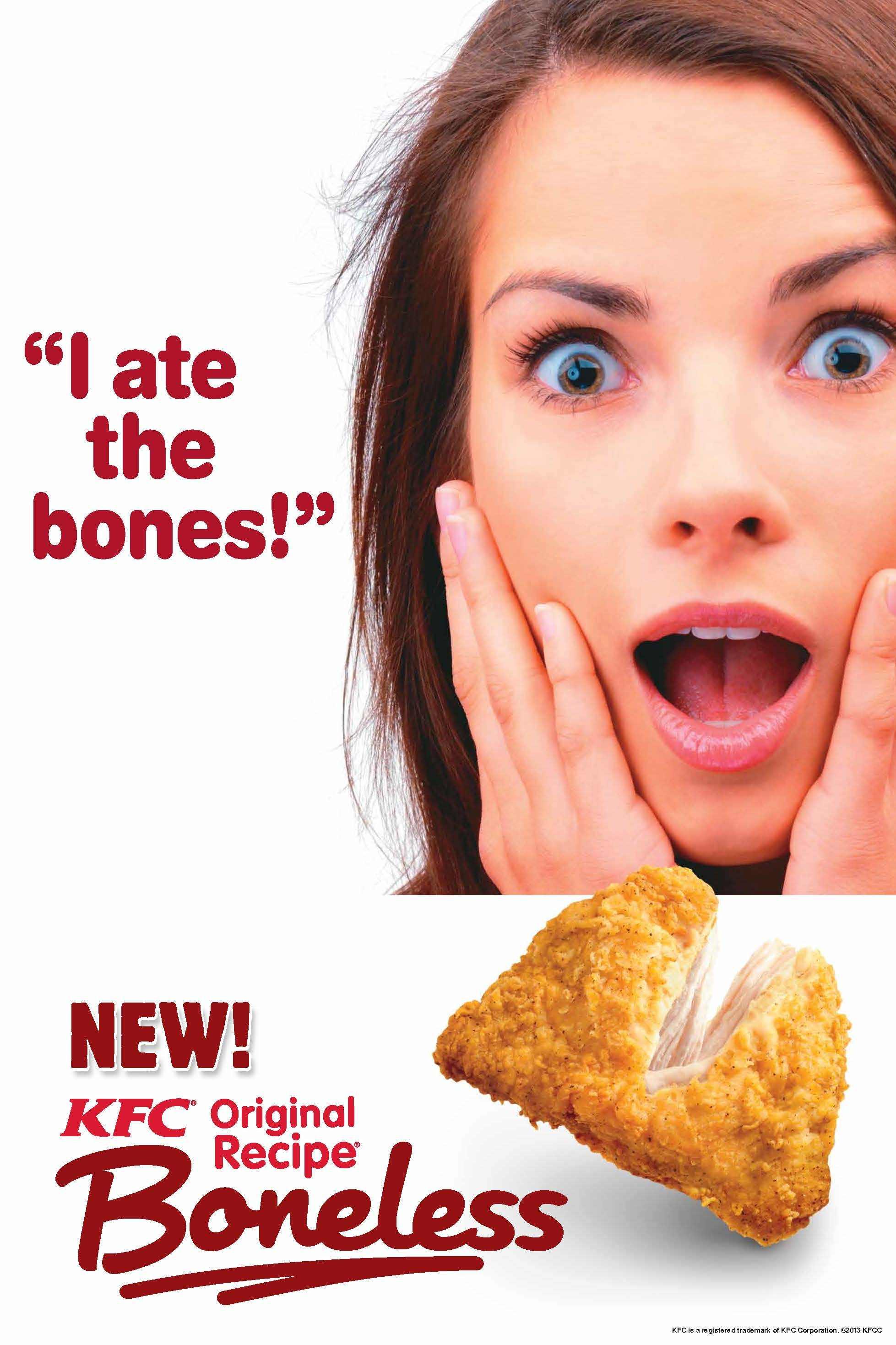 I ate the bones?! - Drawception