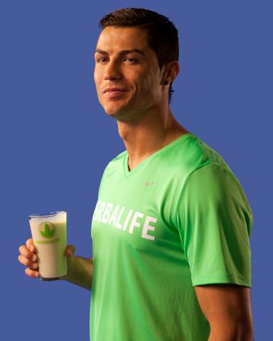 Herbalife es el Nuevo Patrocinador de Nutrición Oficial de Cristiano Ronaldo (Photo: Business Wire)