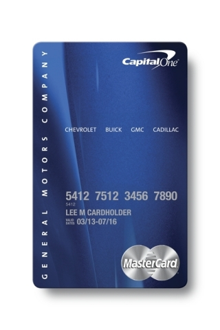 Capital One and General Motors Introduce New Automotive