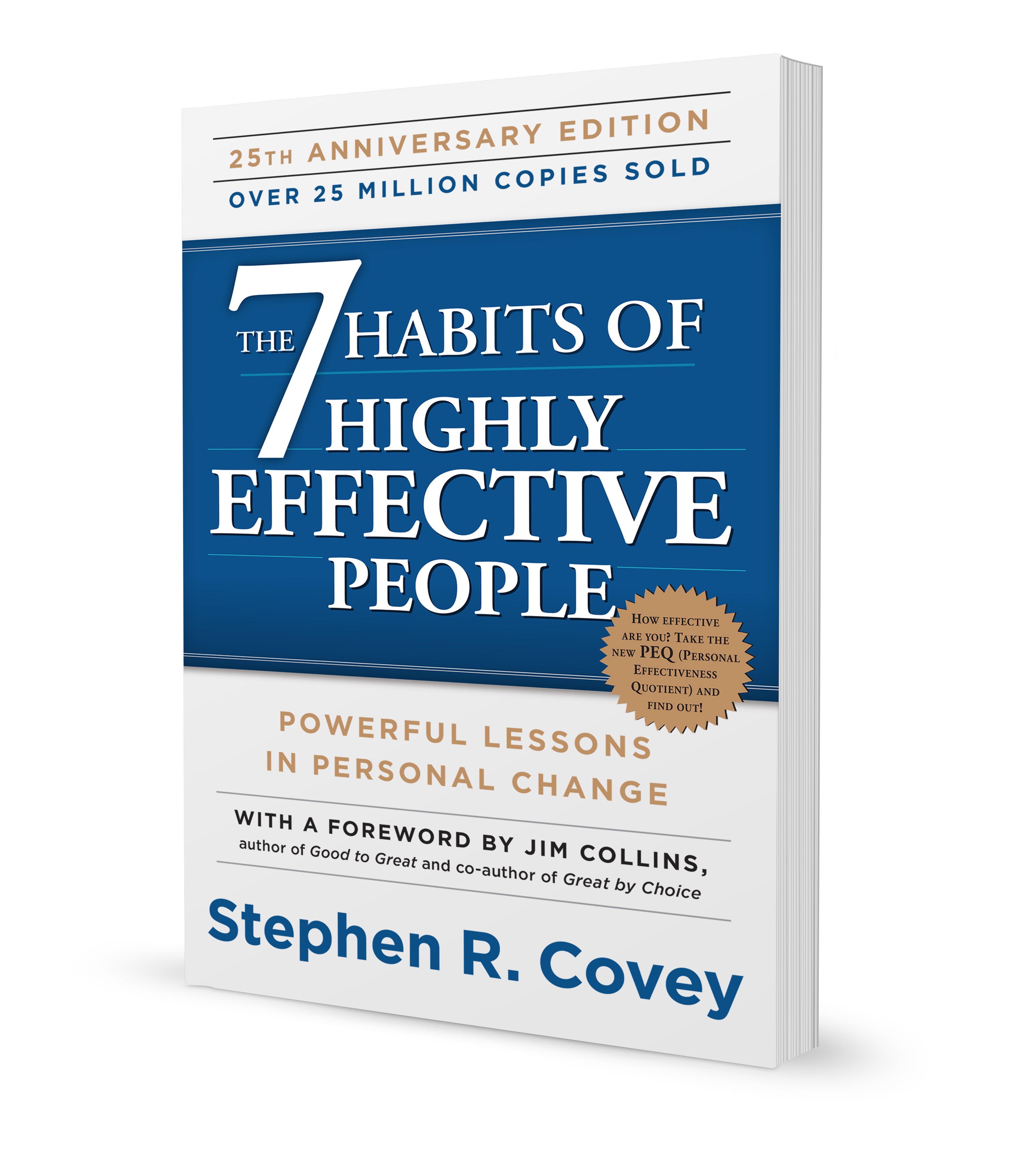 The 7 Habits Of Highly Effective People 25th Anniversary
