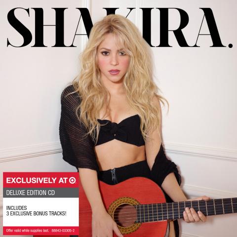 Portada de la edición de lujo de Shakira en asociación con Target (Photo: Business Wire)