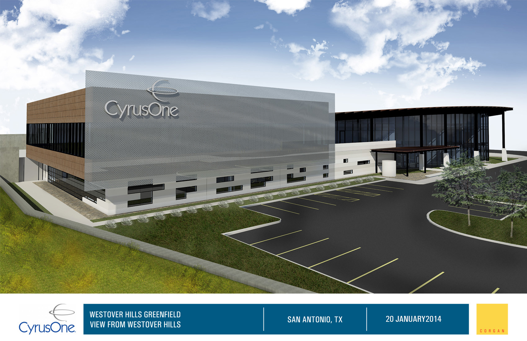 hight resolution of global data center services provider cyrusone to host feb 13 ground breaking ceremony for second data center in san antonio business wire