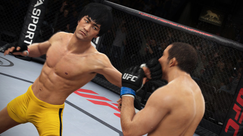 Bruce Lee in EA SPORTS UFC launching June 17, 2014  (Photo: Business Wire)