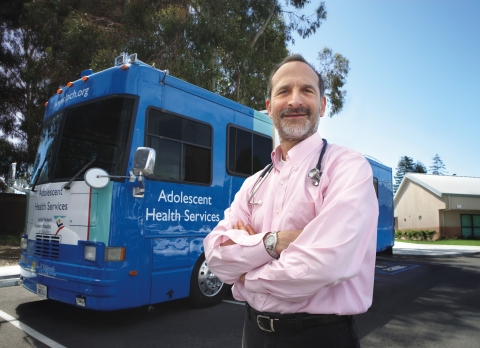 Seth Ammerman, MD, medical director of Mobile Adolescent Health Services at Lucile Packard Children' ...