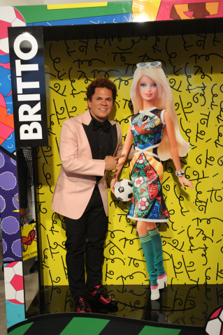 Barbie® Celebrates with World Renowned Artist Romero Britto to Launch New BRITTO Barbie® Doll (Photo ...