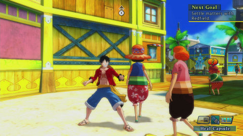 The latest installment of the Unlimited series brings Luffy and the Straw Hat Crew on a new adventur ...