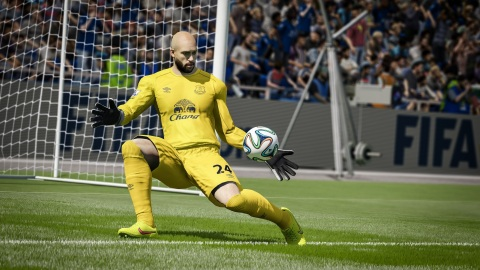 Two years in the making, Next Gen Goalkeepers have been rewritten for FIFA 15 (Photo: Business Wire)