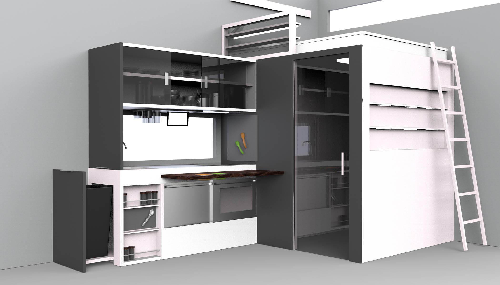 Creating A Functional Micro Kitchen GE's FirstBuild™ Debuts
