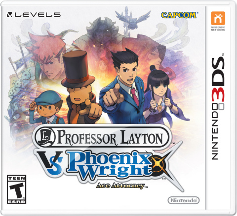 The Professor Layton vs. Phoenix Wright: Ace Attorney game launches for Nintendo 3DS on Aug. 29 and ...