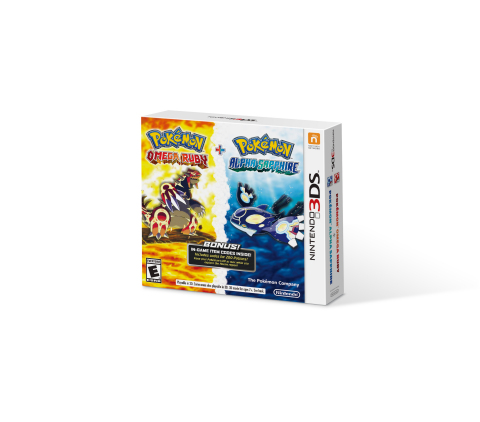 The Pokémon Omega Ruby and Pokémon Alpha Sapphire Dual Pack launches on Nov. 21, exclusively at Best ...