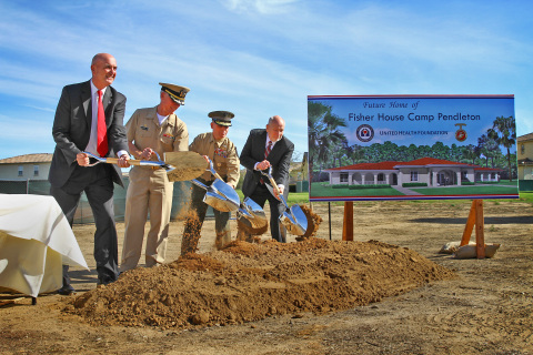 Fisher House Foundation and United Health Foundation on Tuesday, Nov. 18, broke ground on a new $2.6 ...