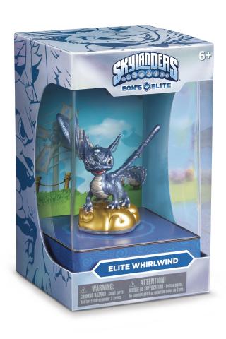 Skylanders® Trap Team Eon's Elite premium toy line debuts fourth character, fan-favorite Whirlwind,  ...