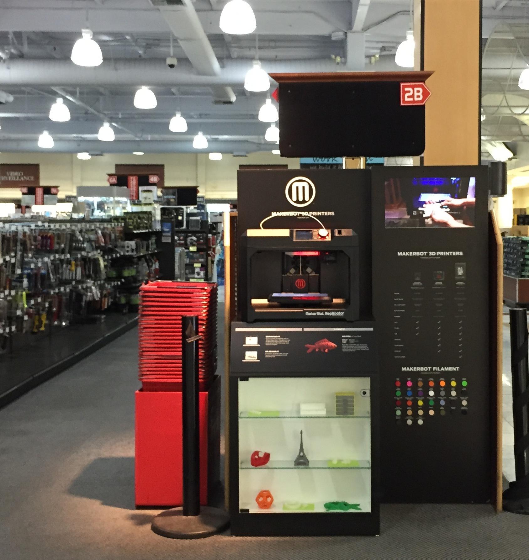 makerbot expands 3d printer