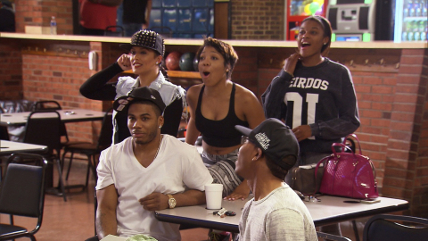 "Hip-hop artist Nelly stars alongside his family in the hit docu-series ""Nellyville"" on BET Networks/ ..."