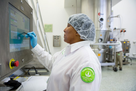 Herbalife employee is one of more than 350 employees currently employed at the new Herbalife Innovat ...