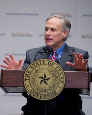 Texas Gov. Abbott discusses the United Health Foundation grant's positive impact on underserved comm ...
