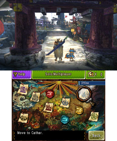 Experience big game hunting with the Monster Hunter 4 Ultimate demo, now playable on Nintendo 3DS. ( ...