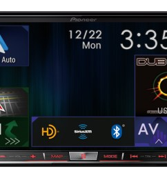 pioneer s second generation nex receivers with android auto and apple carplay now available at authorized retailers business wire [ 3000 x 1783 Pixel ]