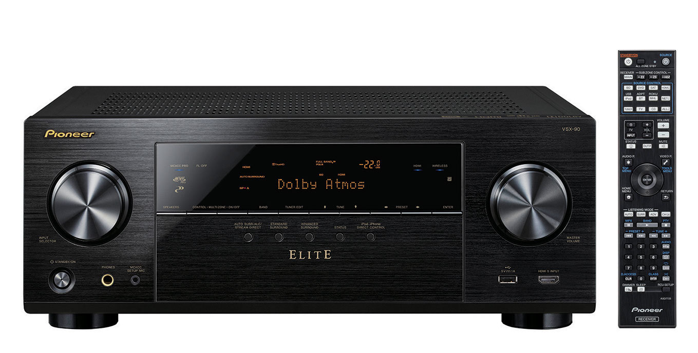hight resolution of 2015 pioneer elite home theater receivers incorporated with install friendly features plus newest techs including dolby atmos business wire