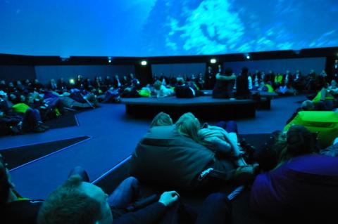 """Beautiful Europe"" @ Traumzeit-Dome – ZENDOME Immersive Media Screen at Europa-Park Rust, Germany (P ..."