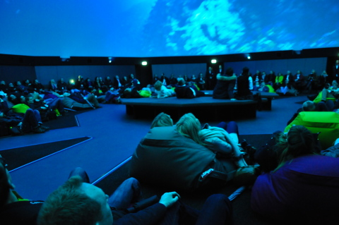 """Beautiful Europe"" @ Traumzeit-Dome – ZENDOME Immersive Media Screen at Europa-Park Rust, Germany (P ..."