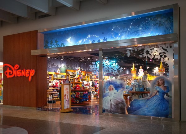 Disney Store Celebrates Grand Opening Of Remodeled Sunvalley Shopping Center In Concord