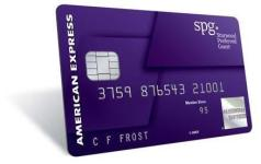 Amex SPG Personal and Business Cards