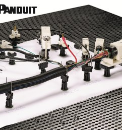 game changer for wire harness manufacturers panduit quick build wiring harness tubing game changer for wire [ 2400 x 2240 Pixel ]